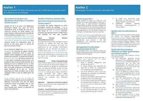 Kit d'appropriation - Forum #3